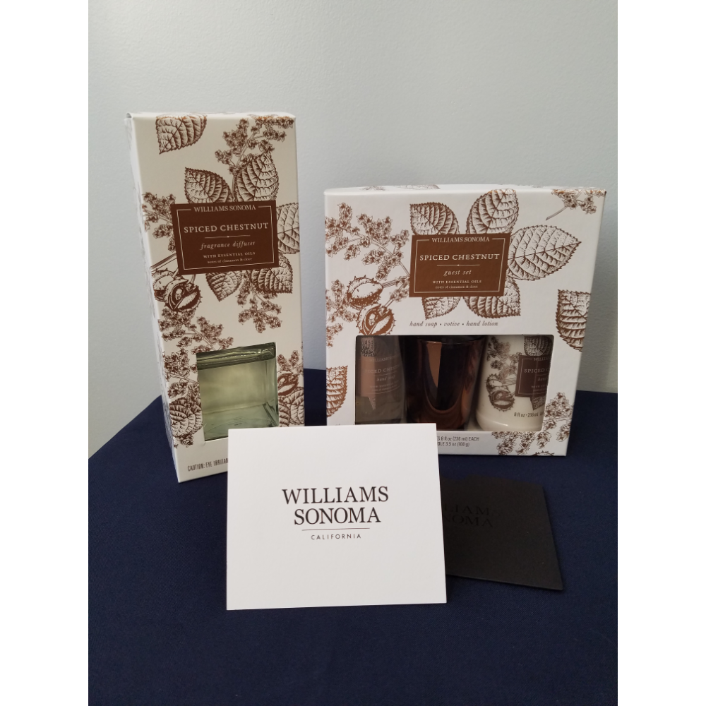 Williams Sonoma Gift Set and Gift Card