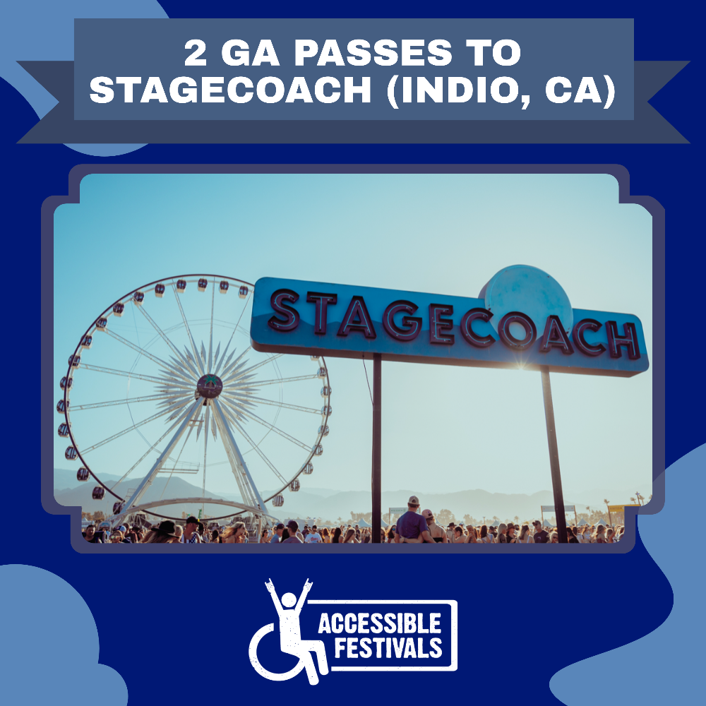 2 GA Passes to Stagecoach Festival