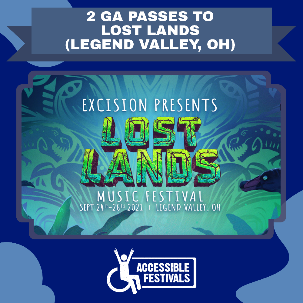 2 GA Passes to Lost Lands Music Festival