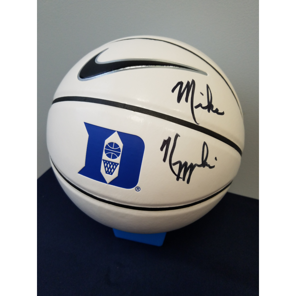 Basketball Autographed by Mike Kryzewski, Duke University