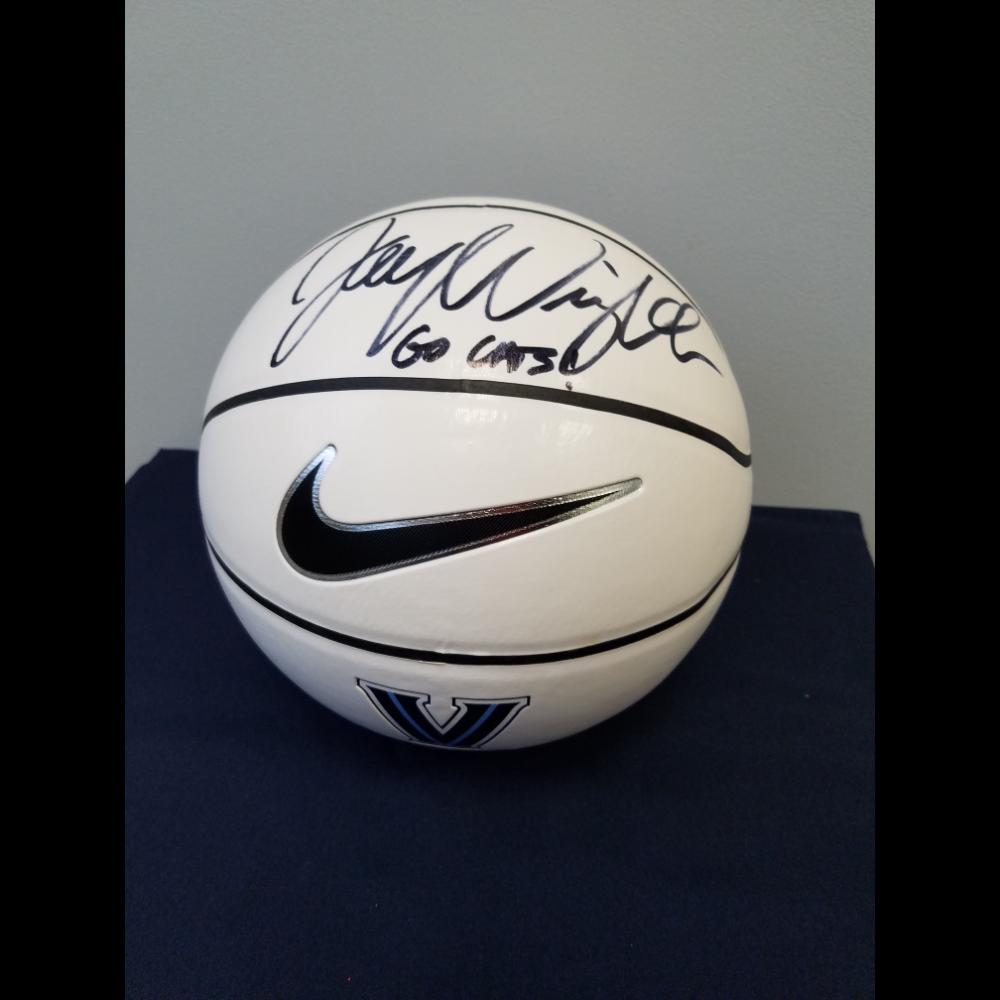 Basketball Autographed by Jay Wright of Villanova