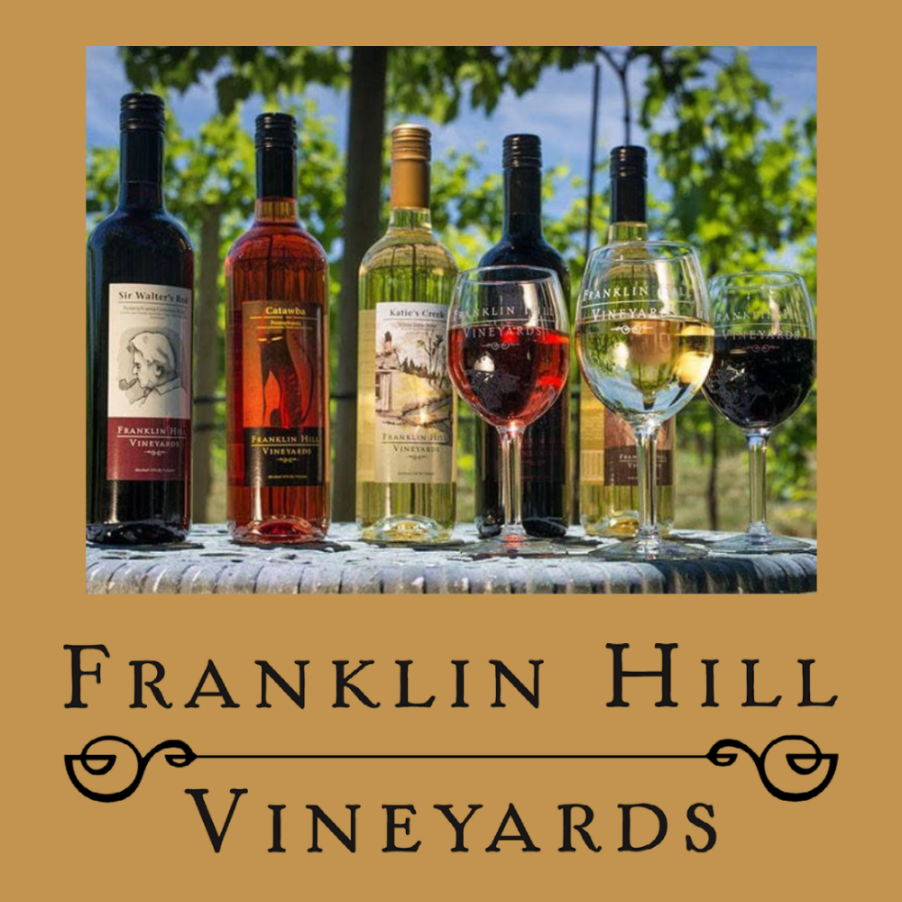 Franklin Hill Vineyards $100 Gift Certificate