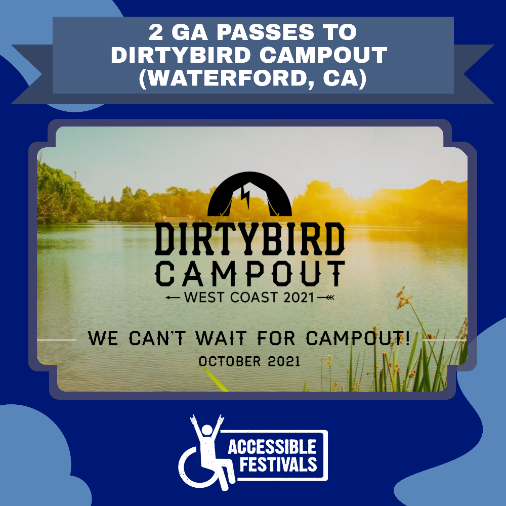 2 GA Passes to Dirtybird Campout
