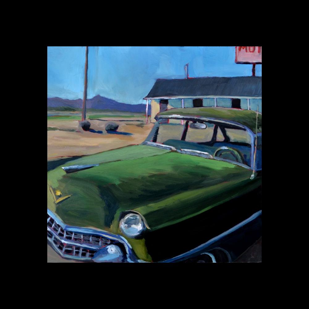 Grand Lake Cadillac  by Rebecca Gorrell