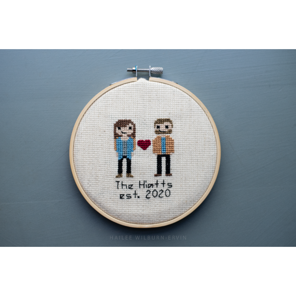 Customized Cross Stitch Art