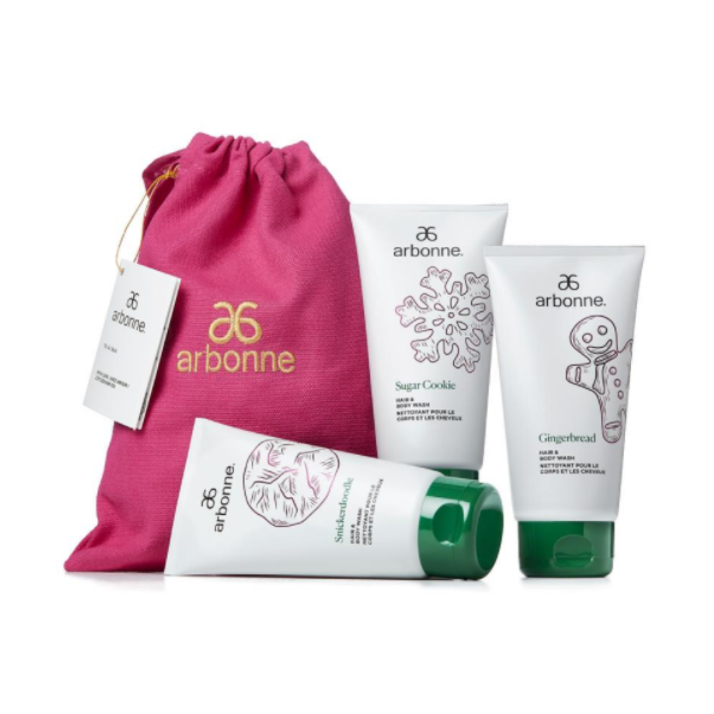 Arbonne Kid's Cookie Hair & Body Wash Gift Set