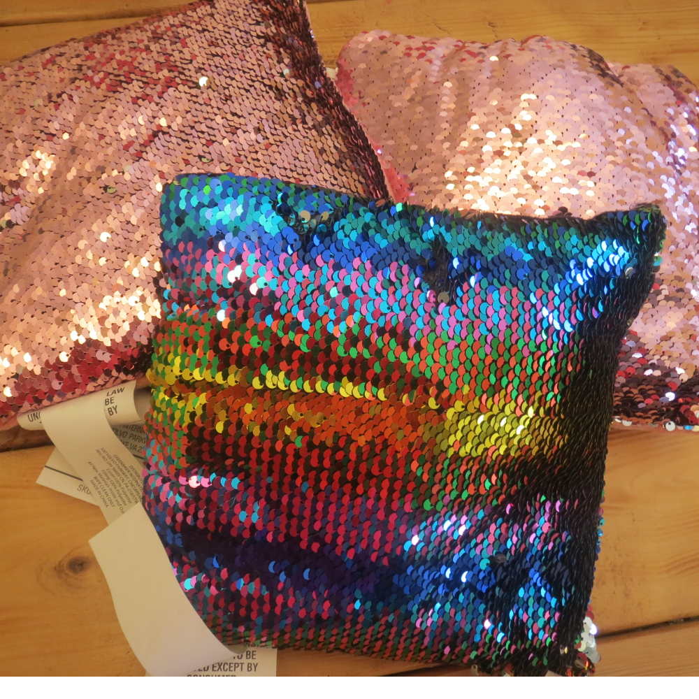 Sequin Flip Pillows