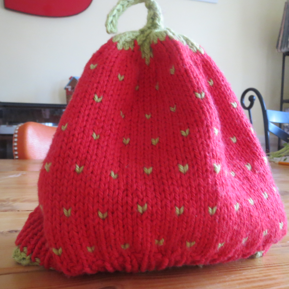 Kid's Strawberry Hat