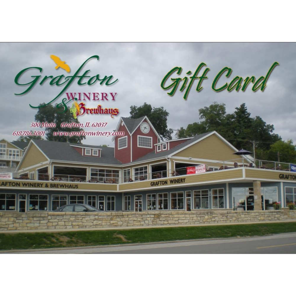 Gift Certificate for The Grafton Winery