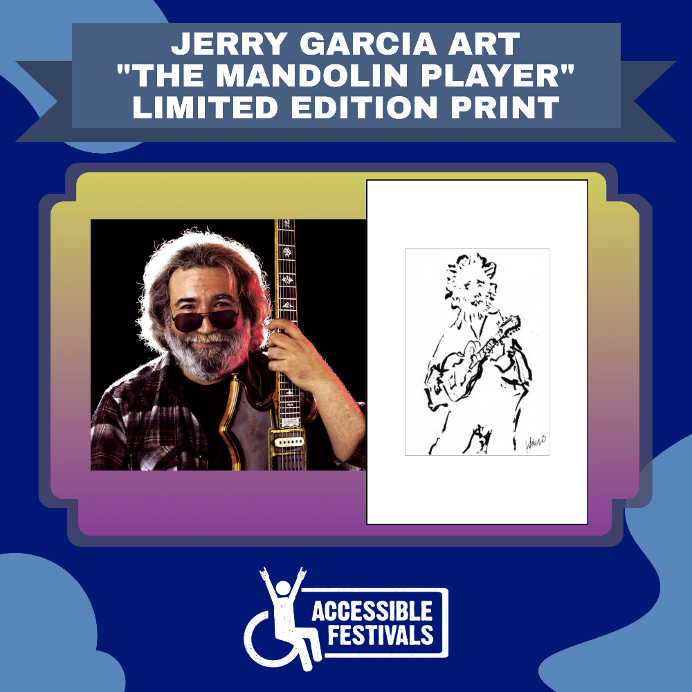"""""""The Mandolin Player"""" by Jerry Garcia"""