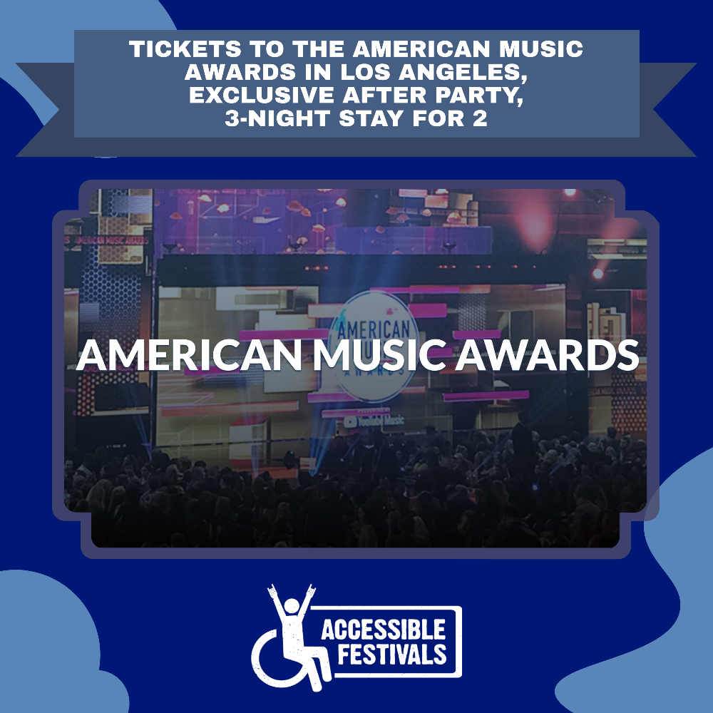 Loge Level Tickets to the 2021 American Music Awards in Los Angeles, Exclusive After Party, 3-Night Stay for 2
