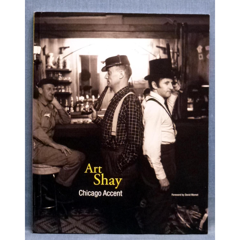 Autographed copy of Art Shay: Chicago Accent