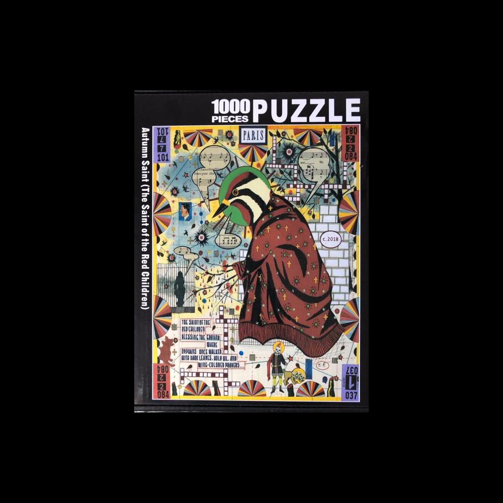 Autumn Saint (The Saint of the Red Children) 1000-Piece Puzzle