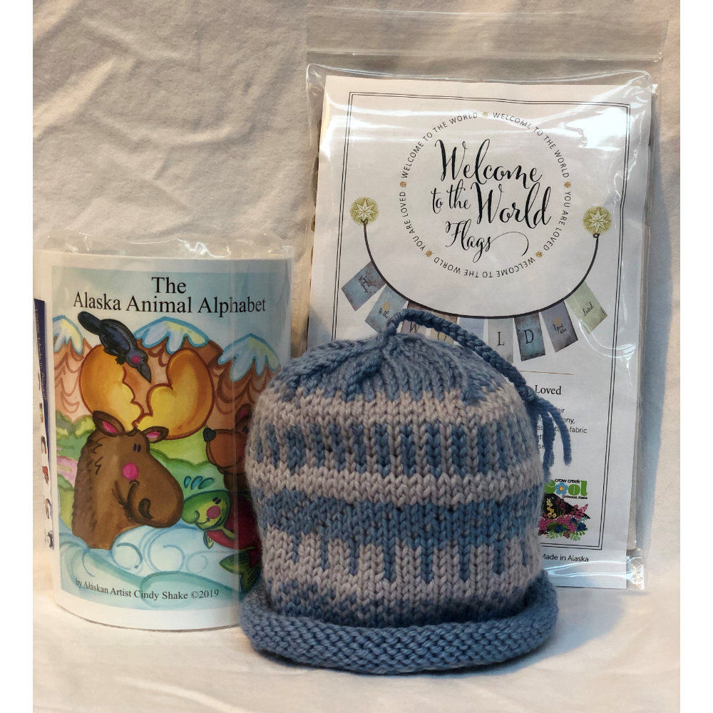 Welcome to the World Gift Set Blue