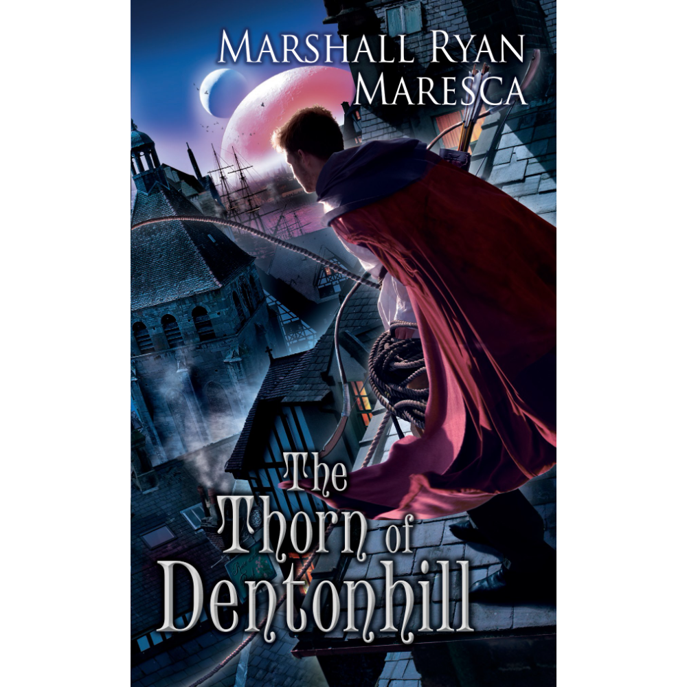 2 Autographed Editions - The Thorn of Dentonhill and A Murder of Mages