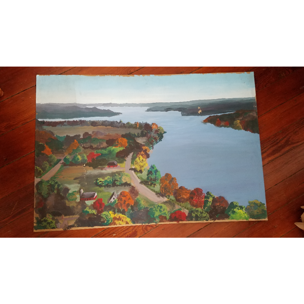 Print: Flying Over the Susquehanna