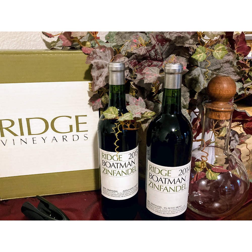 Ridge Vineyards Boatman Library Duo
