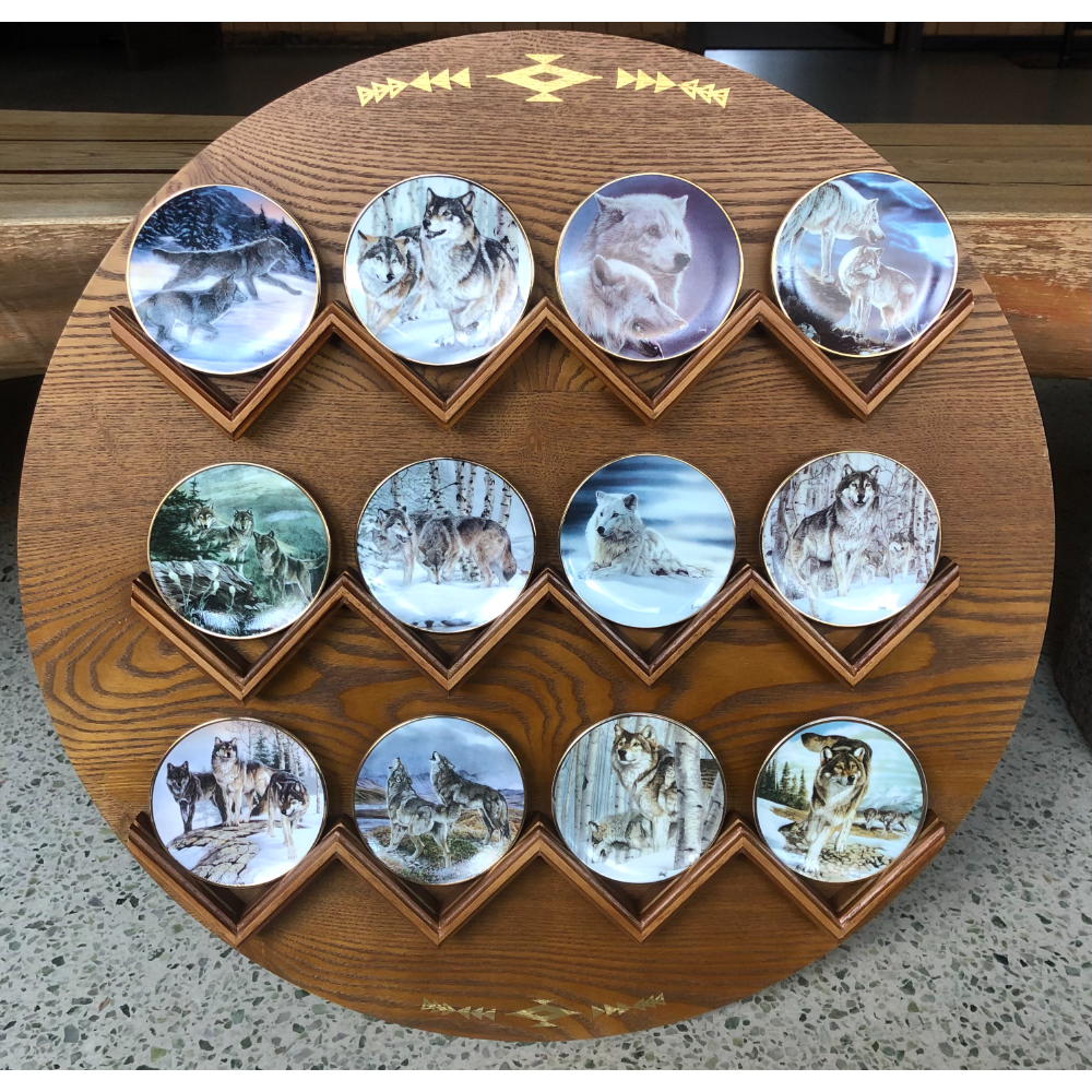 Year Of The Wolf Mini Plate Collection