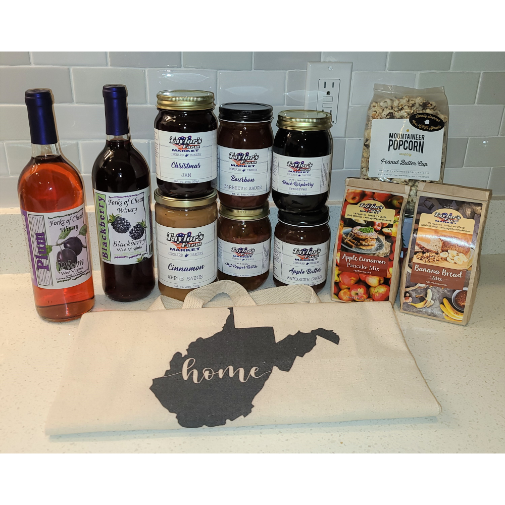 A Taste of West Virginia Gift Basket