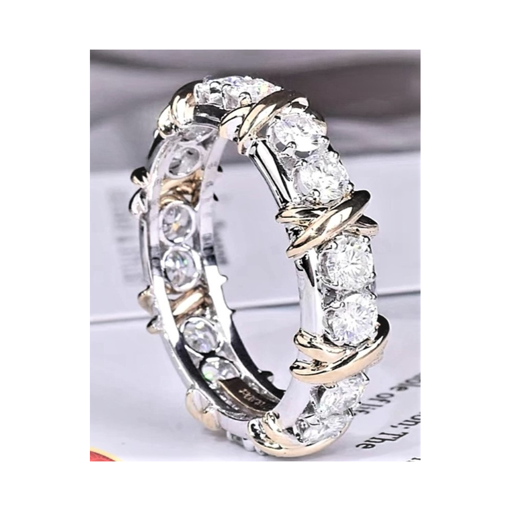 Sz. 7, Women's Eternity Band Anniversary Ring