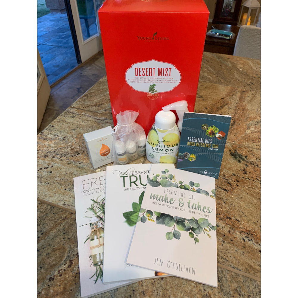 Young Living Essential Oil+Diffuser Basket