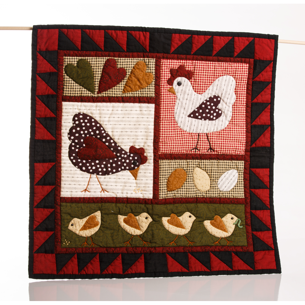 Chicken-hearted Wall-hanging