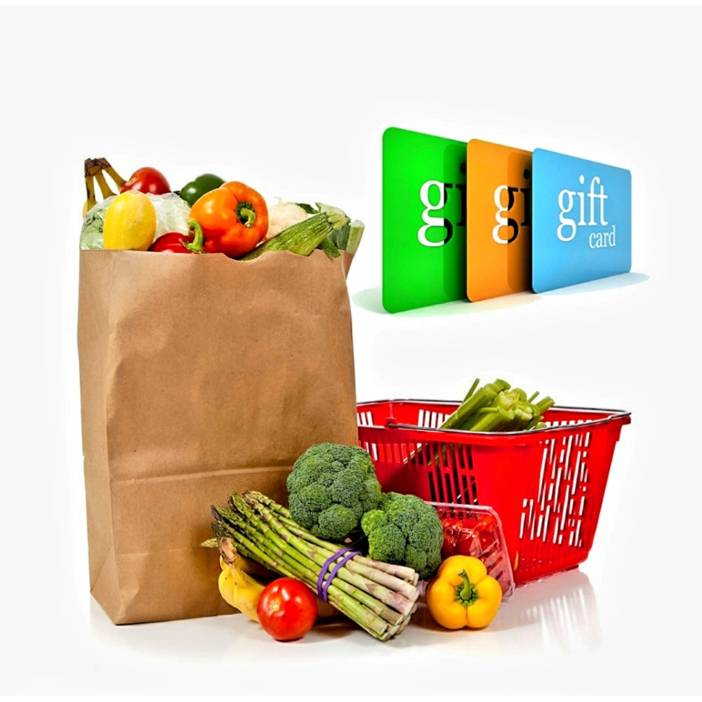 Grocery Store Gift Card pack