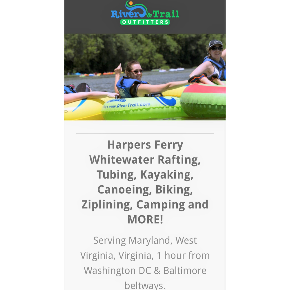 River & Trails Tubing for 4 Gift Certificate