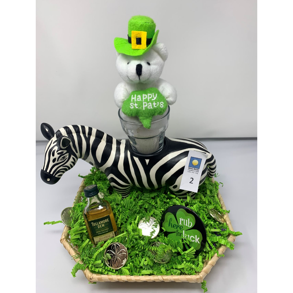 Partylite Zebra Candle Holder
