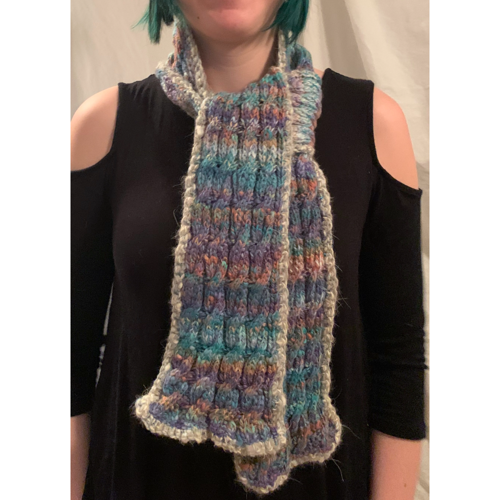 Grizzer Northern Lights Palindrome Scarf