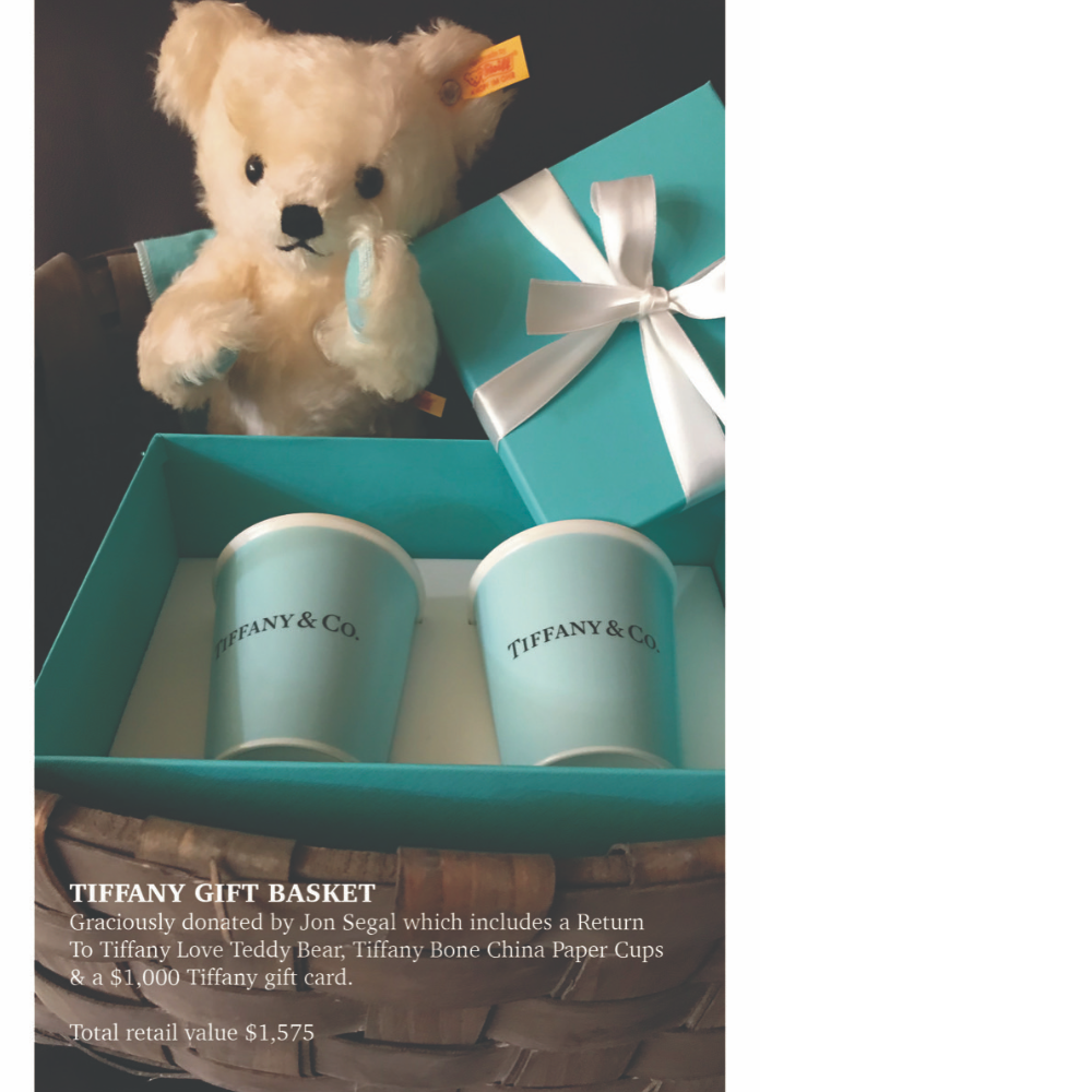 Tiffany Gift Basket