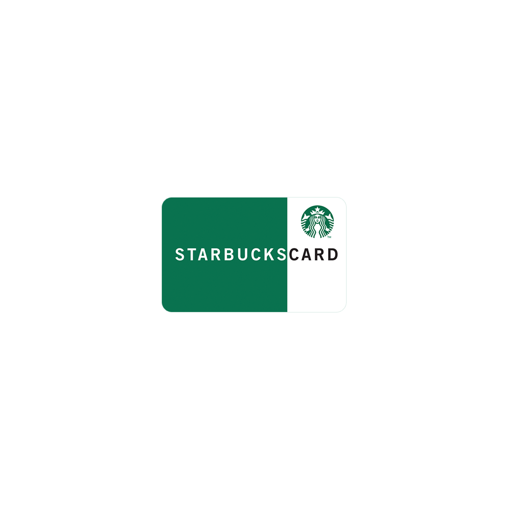 Starbucks Gift Card - $20 (2 x $10)