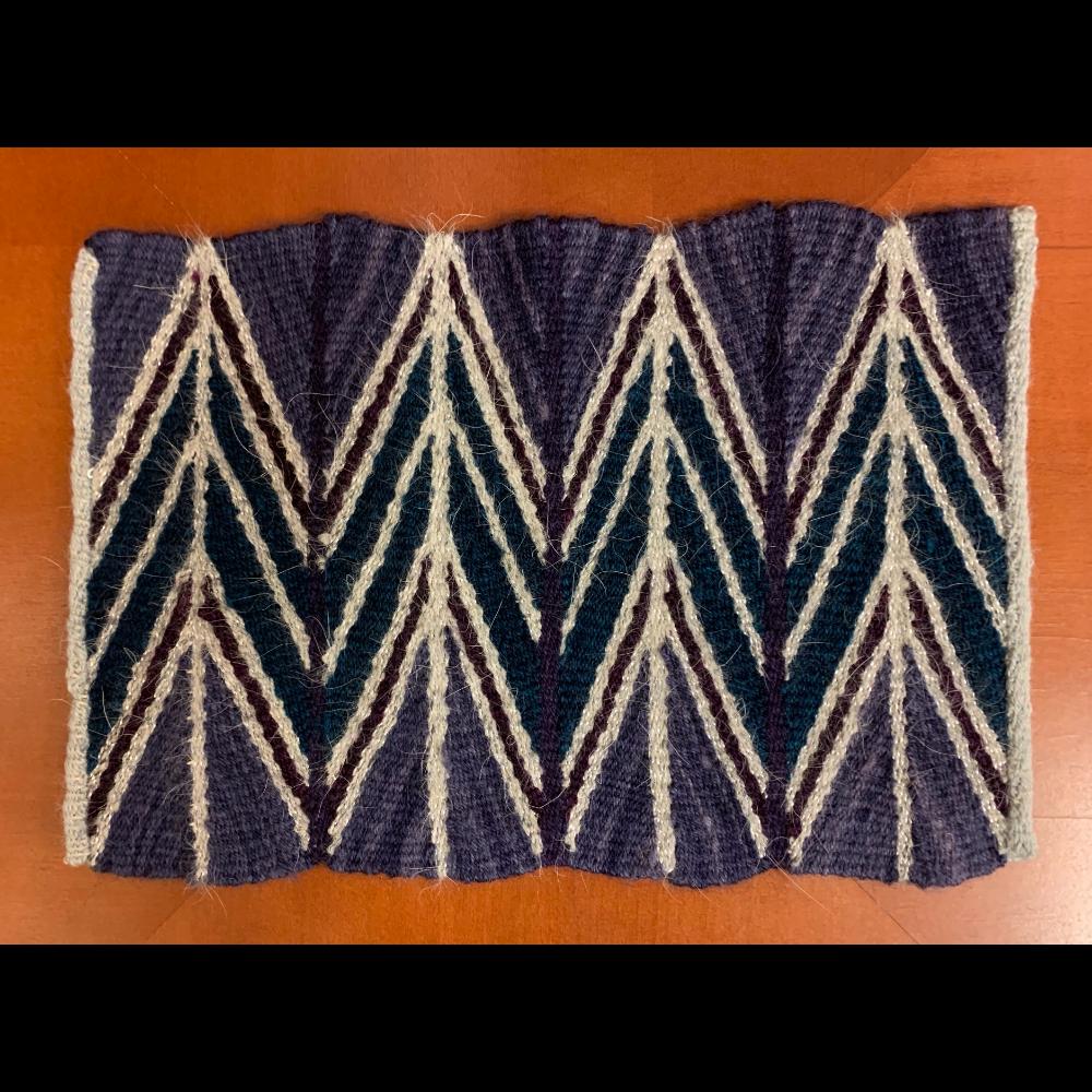 Shadow Wedge Weave Mat