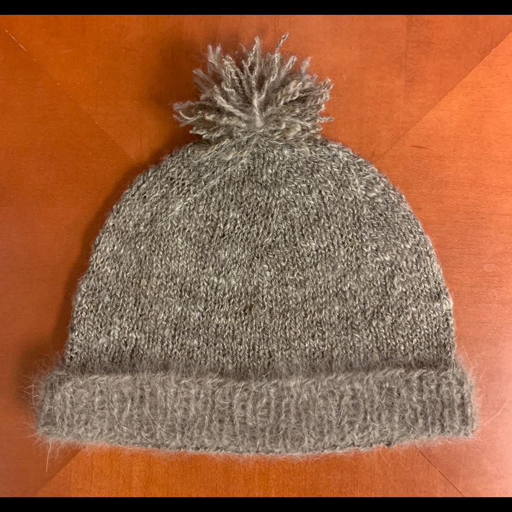 Maya Trimmed Knit Hat