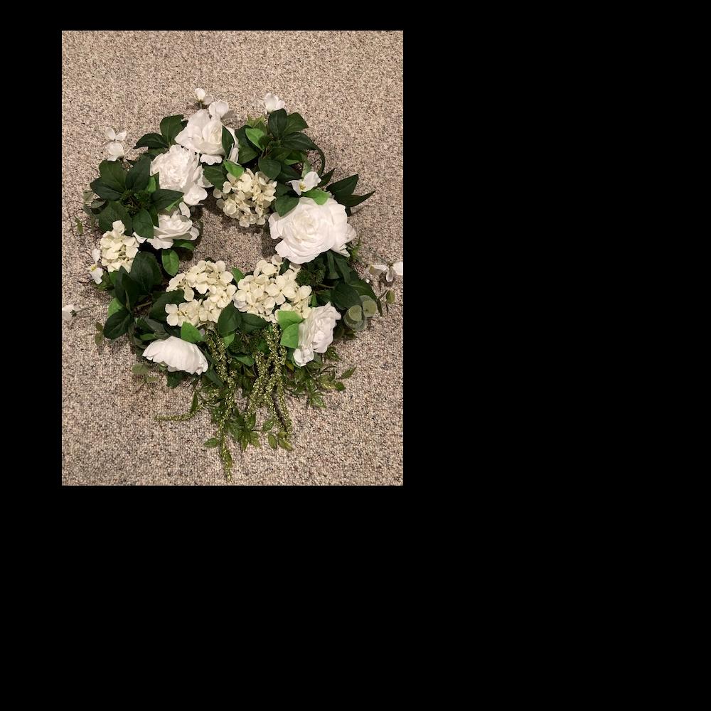 Springtime wreath