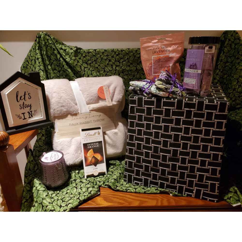 Home relaxation basket
