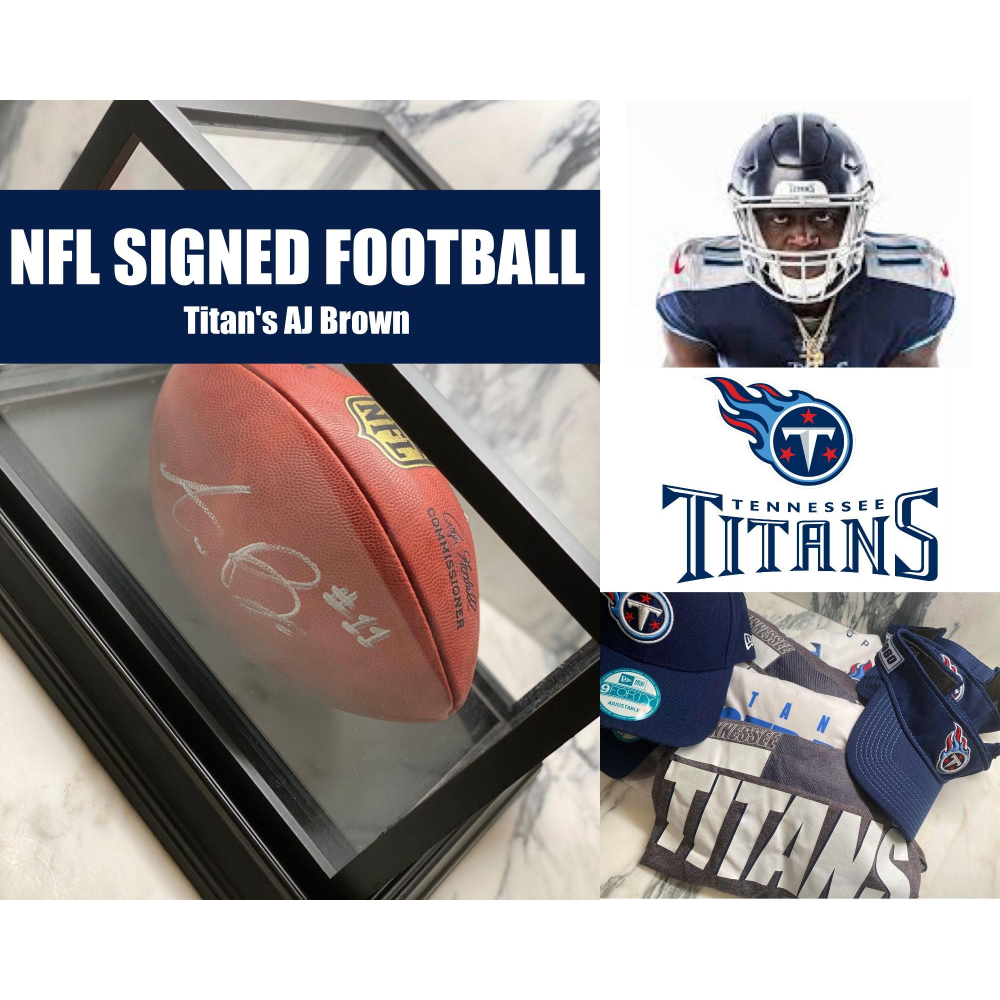 Titans Football - signed