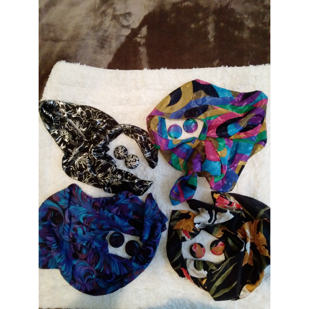 Scarf/Earring Set