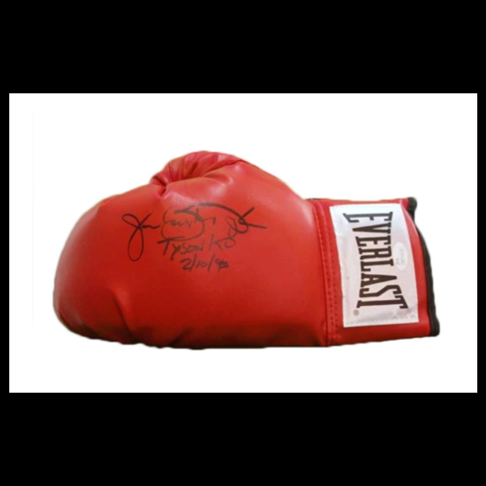 Buster Douglas Autographed Glove