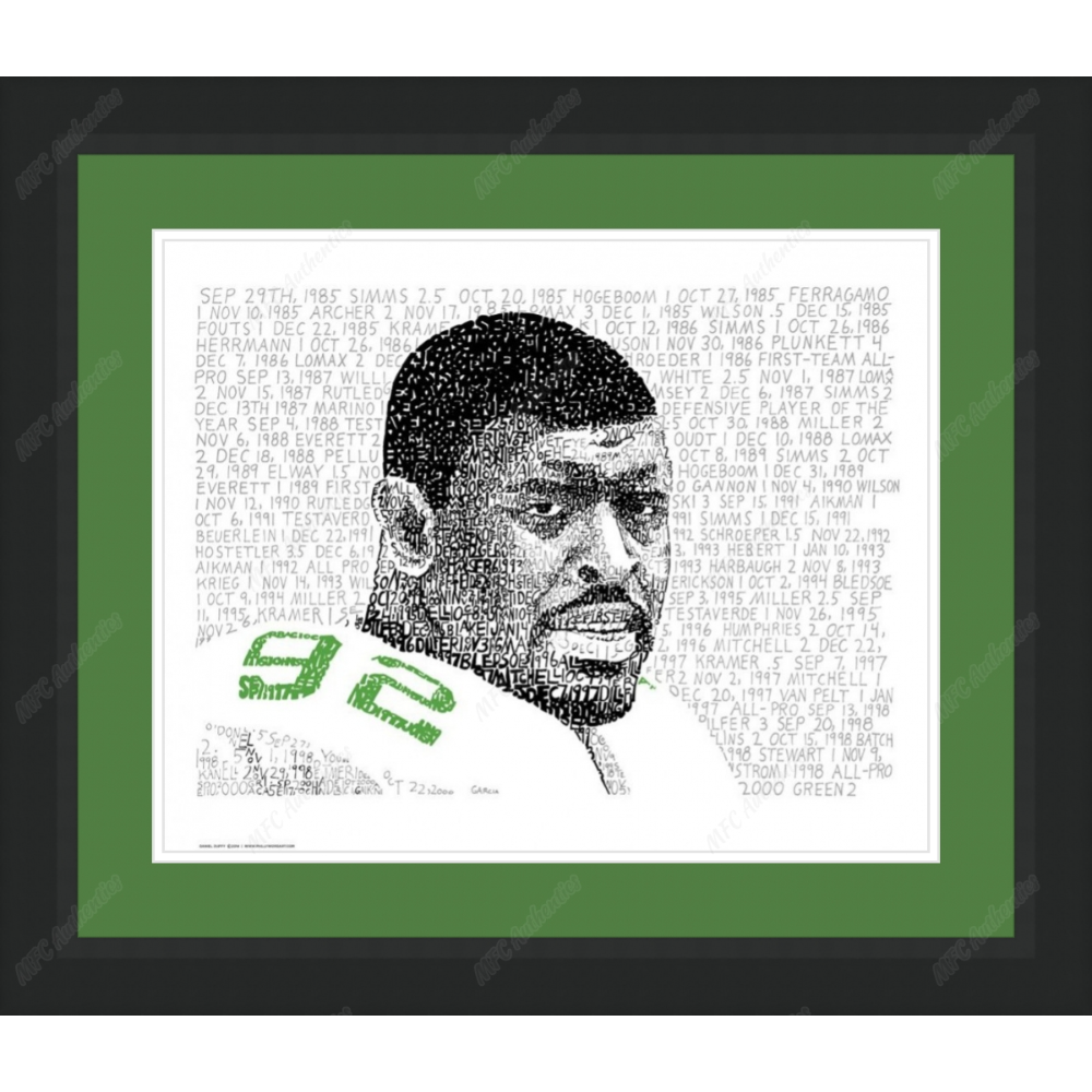 Reggie White WordArt
