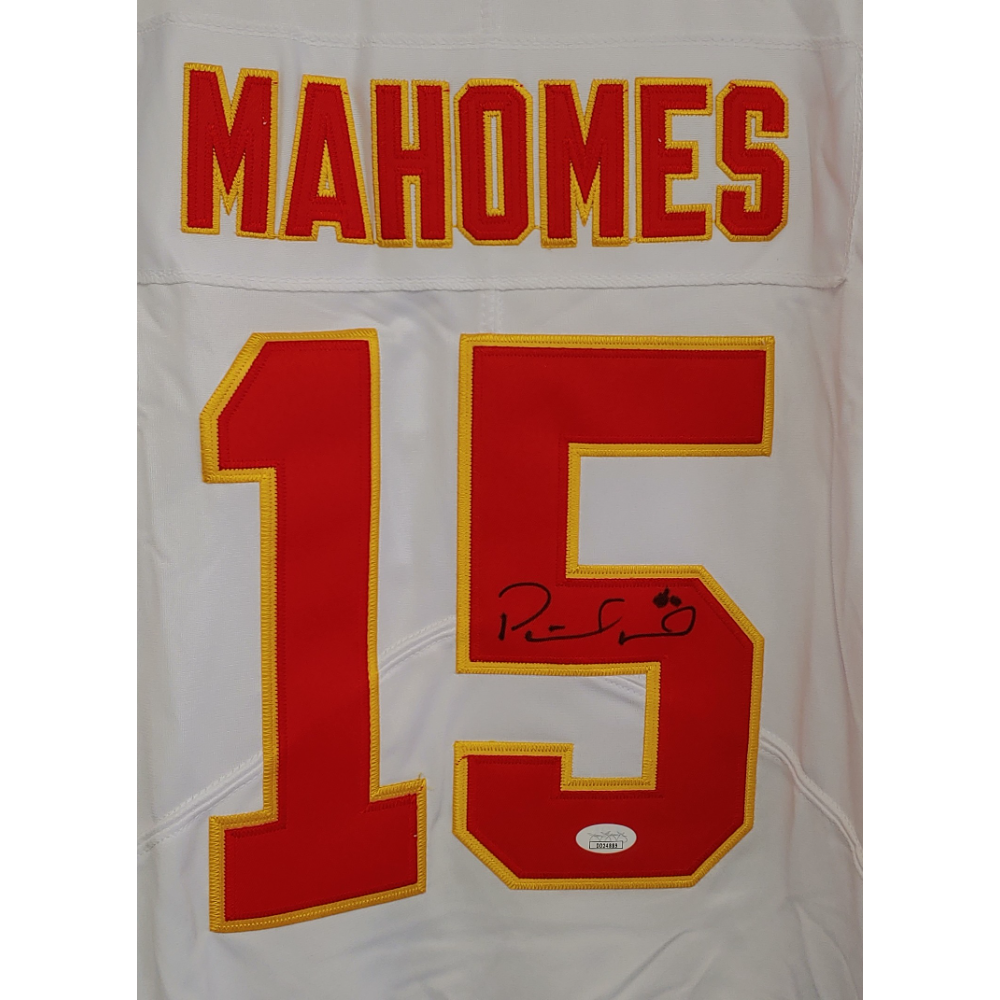 Patrick Mahomes Autographed Jersey