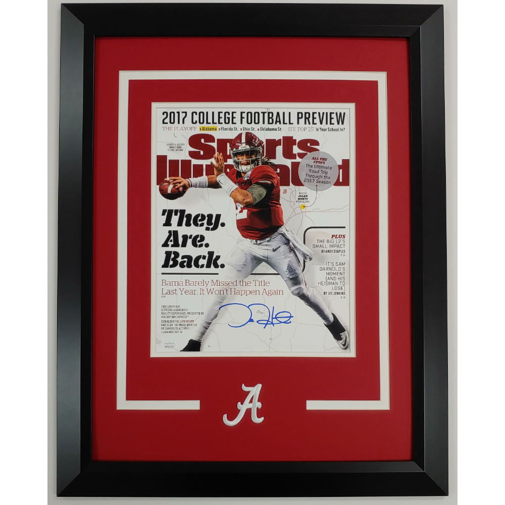 Jalen Hurts Autographed 11x14 Photo