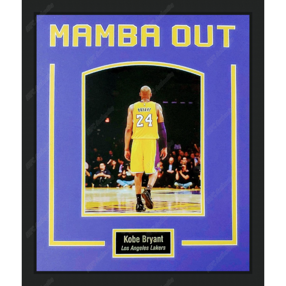 Kobe Bryant - Mamba Out