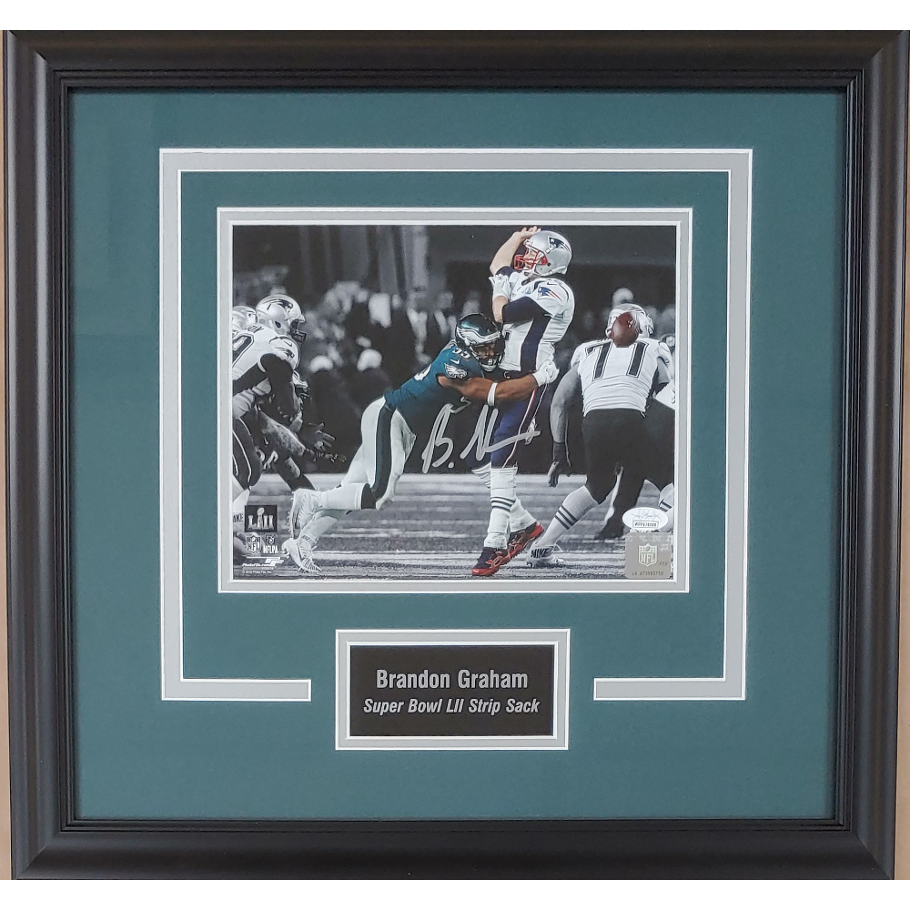 Brandon Graham Super Bowl Strip Sack