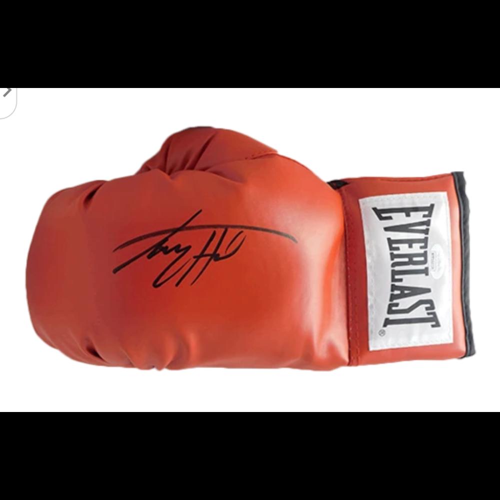 Larry Holmes Autographed Glove