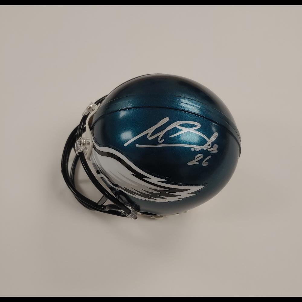 Miles Sanders Mini Helmet