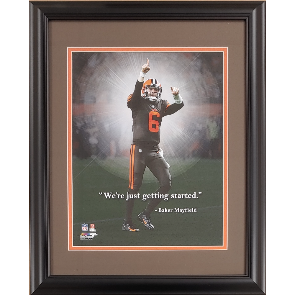 Baker Mayfield 11x14 ProQuote