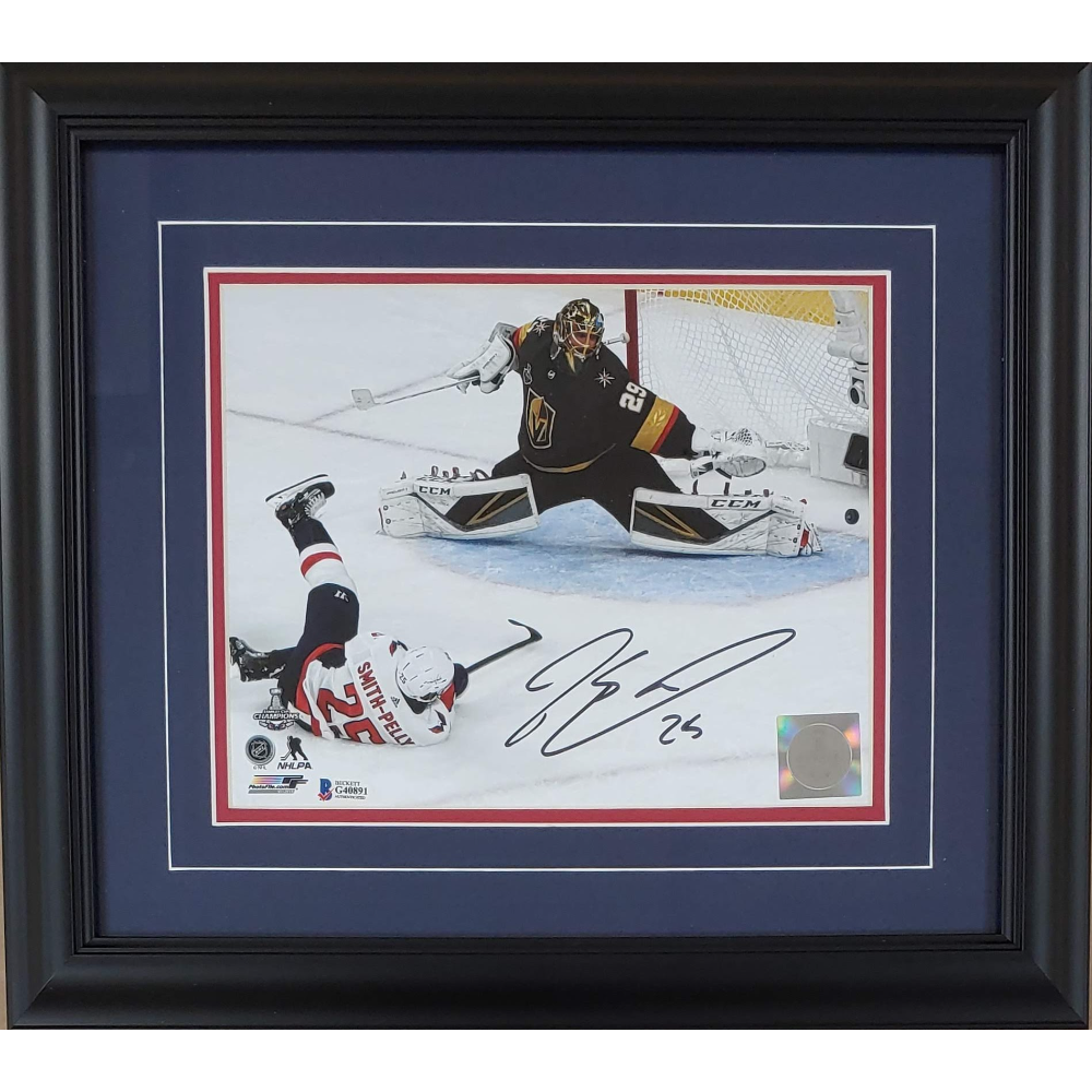 Devante Smith-Pelly Autographed Stanley Cup Goal