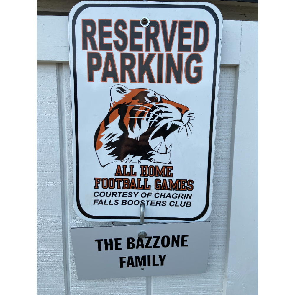 RESERVED FOOTBALL PARKING FOR 2021