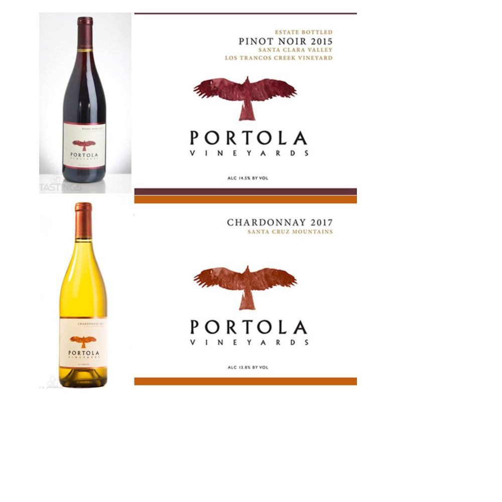 Three Bottles from Portola Vineyards